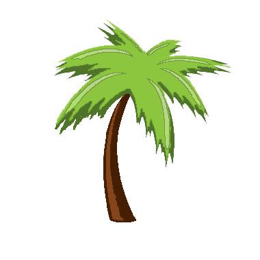 Paper Pieced Palm Tree