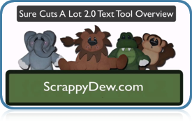 ScrappyDew Text Tool Overview